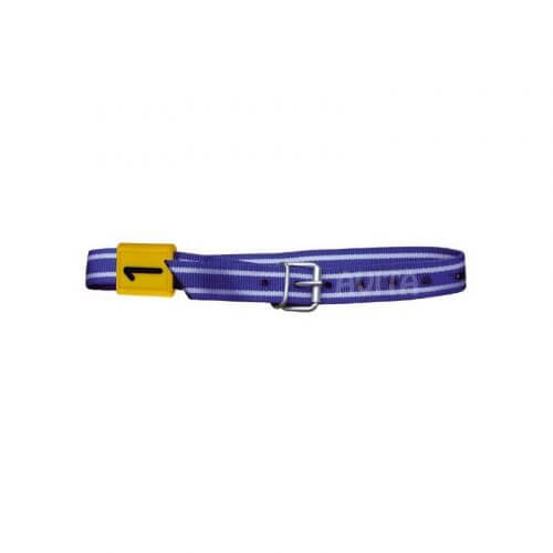ogrlica plavo-bela 130cm